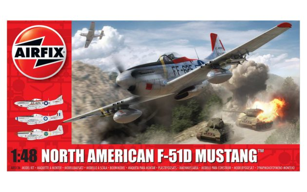 AIRFIX NORTH AMERICAN F-51D MUSTANG™ 1:48