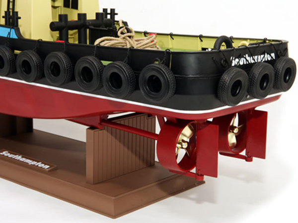 Hobby Engine Premium Label Southampton Tug Boat
