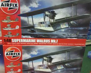 Airfix Walrus 1/48 A09183 has arrived.