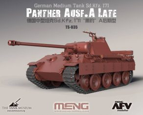 New from Meng Models. Panther Tank TS-035 1/35