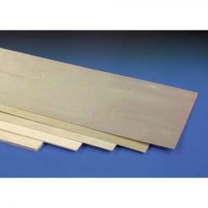 0.8mm (1/32in) 600x300mm Ply