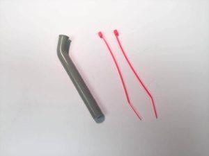 Logic Silicone Exhaust Deflector  5.5mm  45 Deg