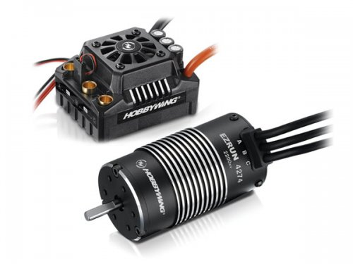 Car Motor & Speed Controller Combo