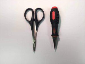 Logic Body Reamer Conical & Curved Lexan Shears