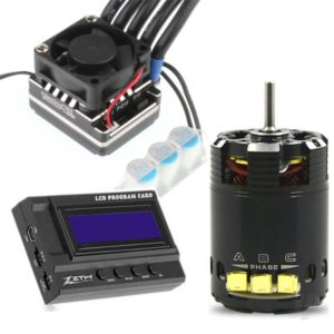 1:10 Beast PRO Combo with 120A ESC + BP 3652 13.5T 3200Kv Motor + LCD Program Card