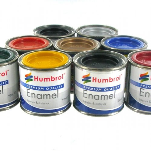 Humbrol Enamel Paint's