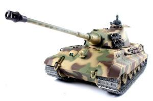 Henglong 1:16 German King Tiger Henschel (2.4GHz+Shooter+Smoke+Sound)
