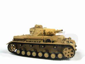 Henglong 1:16 German Panzer IV F1 Tank (2.4GHz+Shooter+Smoke+Sound)