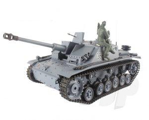 Henglong 1:16 German Stug III (2.4GHz+Shooter+Smoke+Sound)