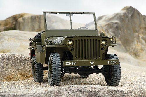 ROC HOBBY 1/6TH WILLYS JEEP SPARES