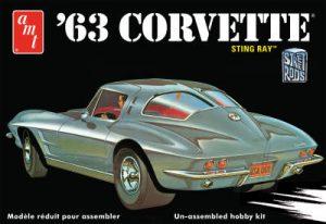 AMT 1:25 1963 Chevy Corvette AMT861