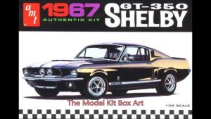 AMT 1:25 1967 Shelby GT350 - White AMT800