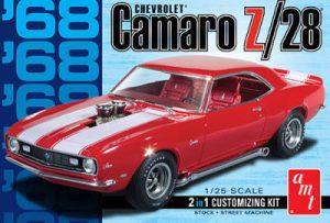 AMT 1:25 1968 Camaro Z/28 AMT868