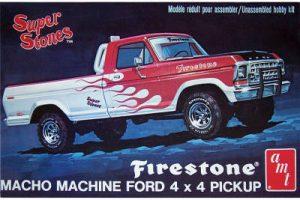 AMT 1:25 1978 Ford Pickup Firestone Super Stones AMT858