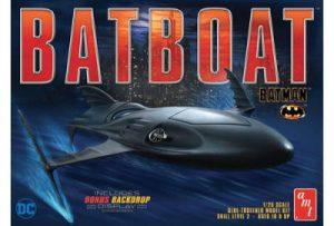 1:25 Batman Batboat AMT1025