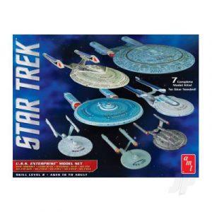 AMT 1:2500 Star Trek U.S.S. Enterprise Box Set - Snap
