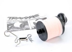 Traxxas Air filter body high-volume  filter support  cap  foam