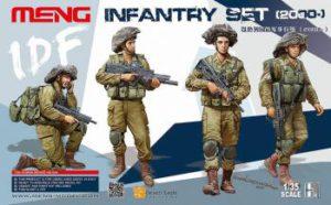 Meng Model 1:35 - IDF INfantry Set (2000-)