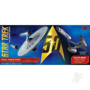 1:350 Star Trek TOS U.S.S. Enterprise Pilot Parts Pack