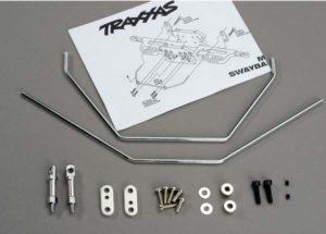 Traxxas Anti-sway bars (front & rear) w  hardware