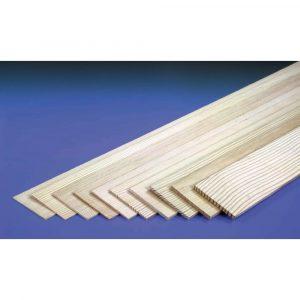1/4in 36x3in Sheet Spruce