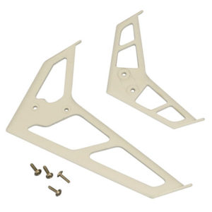 E-Flite Blade CP Pro/SR White Stabiliser/Fin Set - EFLH1326W