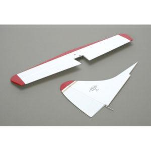 E-Flite DHC-2 Beaver 25E White/Red Tail Set