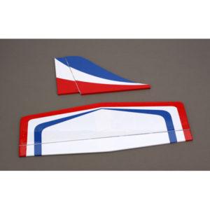 E-Flite Leader 480 Red/White Tail Set EFL300003