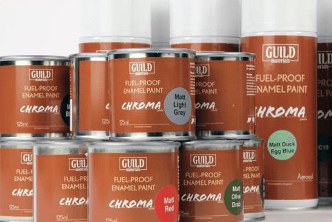 Guild Materials Fuel-Proof Paints