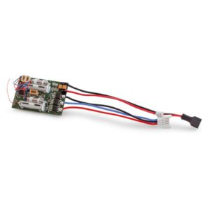 E-Flite DSMX 6 Channel Ultra Micro AS3X RX for Brushless ESC