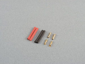 2.0mm Gold Connector Set 2prs