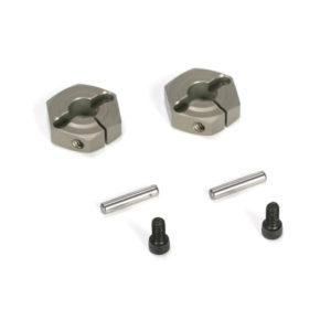 Losi Ten-SCTE Aluminium Clamping Wheel Hex (2) LOSB3493