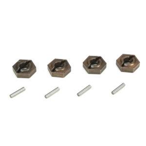 Losi Ten-SCTE Wheel Hex (4) with Pins LOSB3495