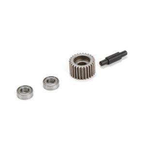 Losi XXX-SCT/SCB Metal Idler Gear/Shaft/Bearings LOS232000