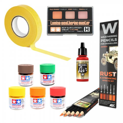 Paints and Glues