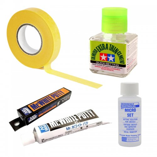 Glues and Finishing Products