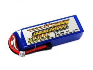 Overlander 3350mAh 6S 22.2v 30C LiPo Battery