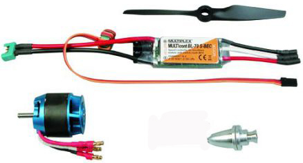 Aircraft Motor & Speed Controller Combo