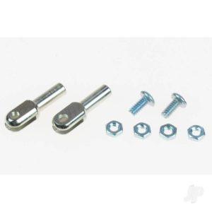 4-40 Steel Rod Ends (2pcs)