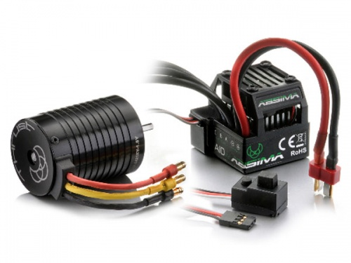 Motors,  Speed Controllers and Combo