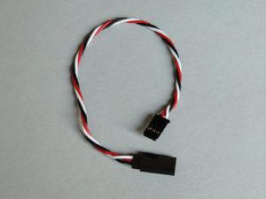 Futaba Ext.Lead (Silicone) 200mm