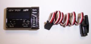 Futaba GY-701 Amplifier & Governor sensor