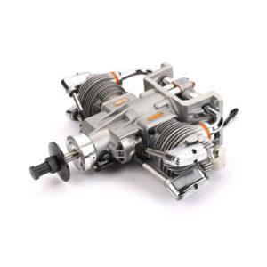 Saito FG-57T twin petrol engine