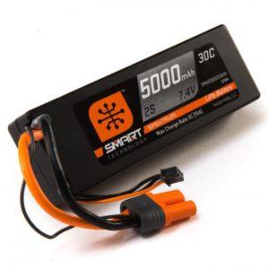 5000mah 2S 7.4V Smart LiPo 30C; Hardcase, IC5