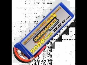 5000mAh 6S 22.2v 35C LiPo Battery - Overlander Supersport Pro