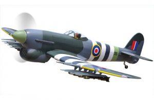 Black Horse Hawker Typhoon 1B 33cc ARTF