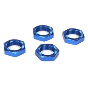 5ive-T Blue Anodised Wheel Nuts (4) - LOSB3227