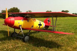 Dynam Albatros DVA ARTF WWI Bi-Plane