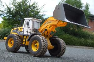 Hobby Engine Wheeled Loader