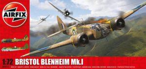 Bristol Blenheim MkI Bomber 1:72 - A04016